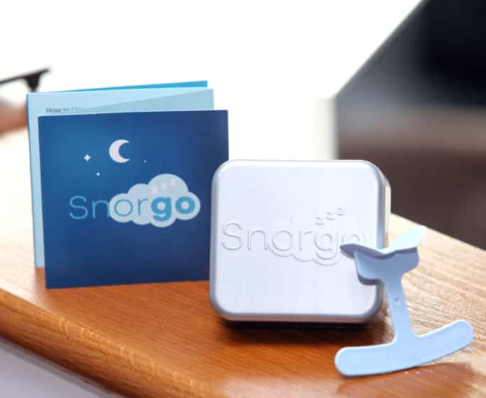 Snorgo - a cure for snoring